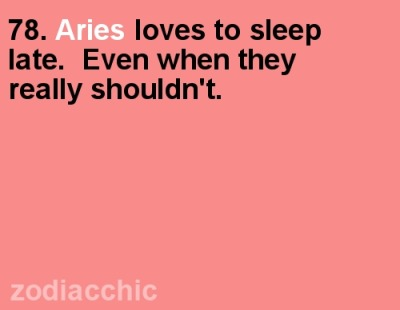 zodiacchic:  ZodiacChic Post:Aries