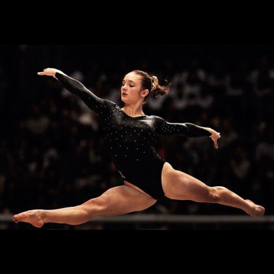 fishingboatproceeds:  This is Jennifer Pinches, an Olympic gymnast representing Great Britain who is also REPRESENTING NERDFIGHTERIA. That's right. There's a nerdfighting gymnast in the Olympics.