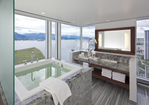 georgianadesign:  Contemporary bath, Vancouver. Claudia Leccacorvi.