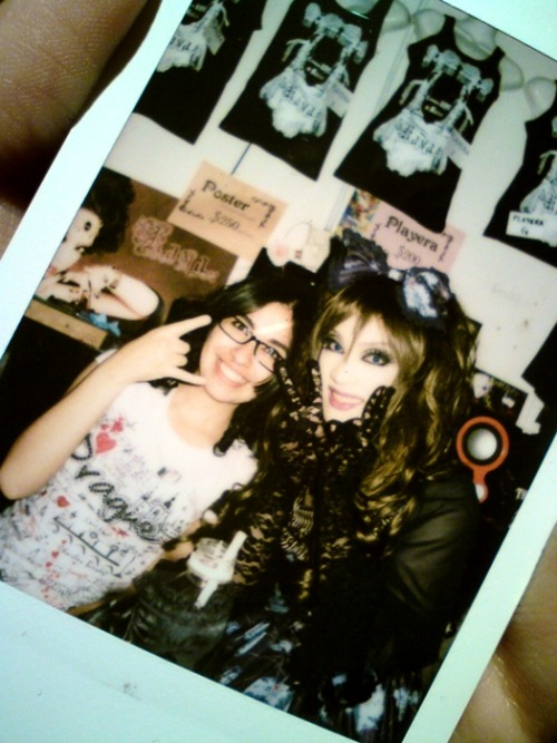 Kaya & me ♥ (Fan meeting on México 12.07.2012) Legal photo(?)