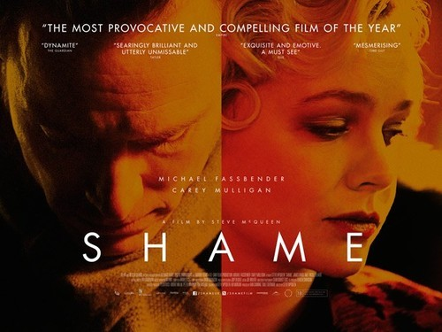 I just finished watching Shame, Written and Directed by Steve McQueen and starring Michael Fassbender, Carey Mulligan and James Badge Dale. This film is easily Michael Fassbender's best role. As great as he is in Prometheus and Hunger he really becomes the character in Shame. It's not an easy movie for a lot of people to watch as it follows his character through his sex addiction. When his sister comes to visit unannounced, the repetitive pattern of his addiction is disrupted. I suggest everyone who is a fan of Fassy definitely check it out. Also, this movie is the most believable portrayal of a sex addict I've ever seen in a film.