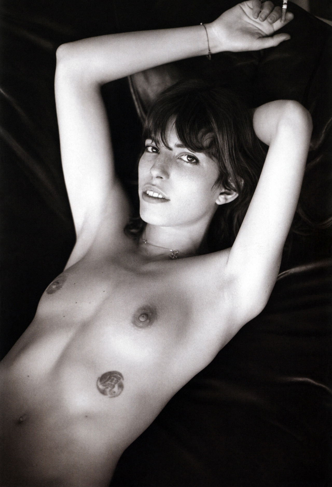 momongamon:  Lou Doillon by Mario Sorrenti