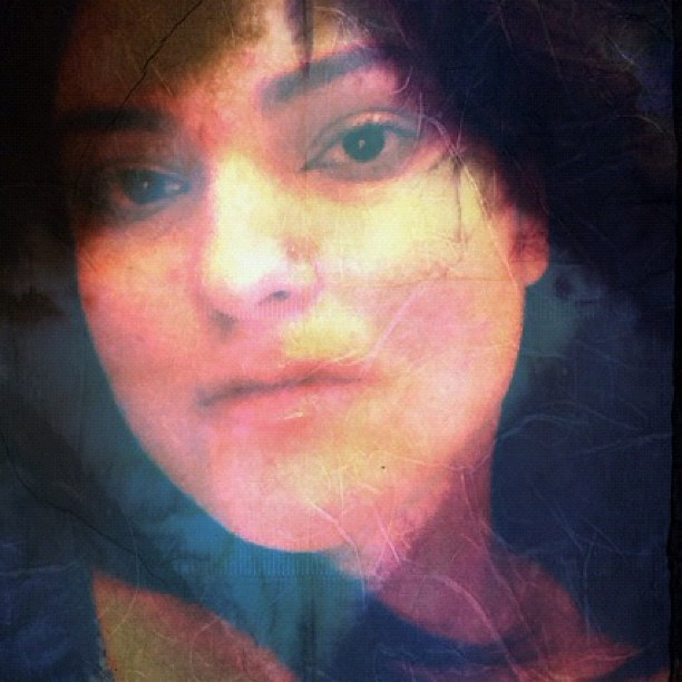 #woman #selfportrait #surreality #space (Taken with Instagram)