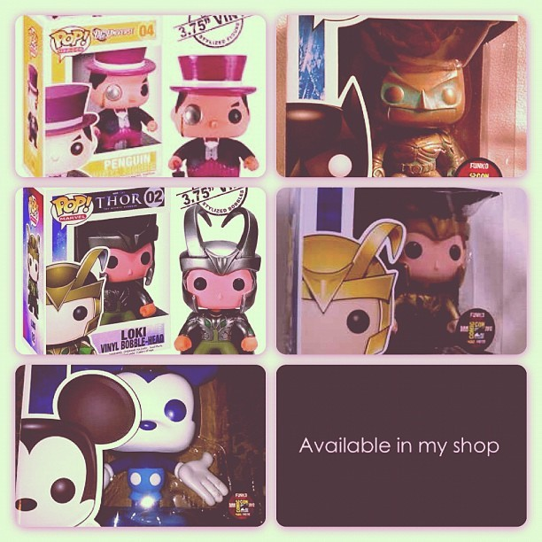 Opening up soon after inventory! #Funkopop #Poptoys #Marvel #mickeymouse #disney #Avengers #Loki #Comiccon2012 #Comiccon #Comics #collectibles #Popwars #Poptoys #Figurines  (Taken with Instagram)