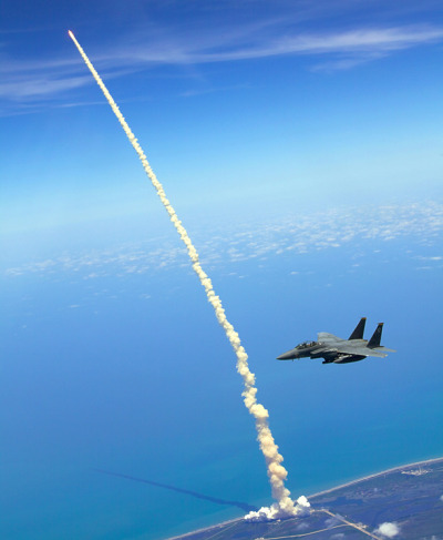 ryandonato:  F-15 Shuttle Launch