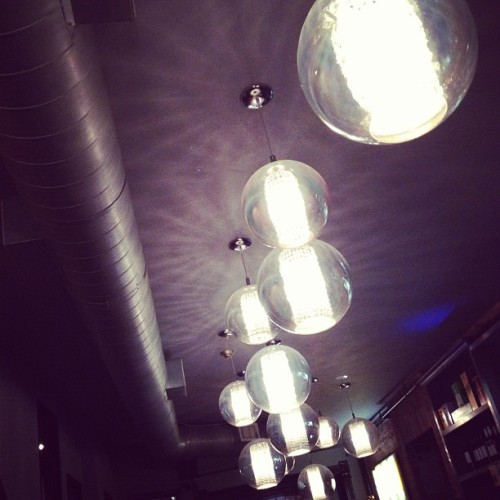 #lights #interior #design  (Taken with Instagram at The Office Pub)