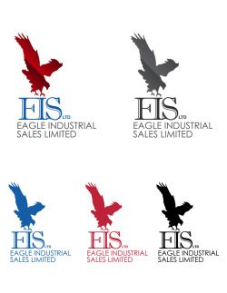 Designs I did for a broker company. I may post the drafts later on. However these designs are the final artworks chosen by the client. The Business card with the dark gray font is the card used. Visit the wbesite: http://www.eagleindustrialsales.com/