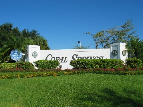 Welcome to Coral Springs, FL! A great place to raise the family…