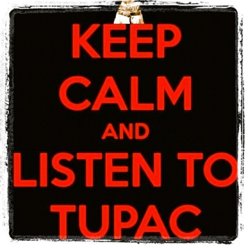 out-rage-us:  Listen to Tupac #hiphop #oldschool #Tupac #weed #zooooed #stoner #truth  (Taken with Instagram)