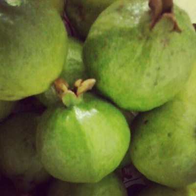 Love it..super miss eating guava (Taken with Instagram)