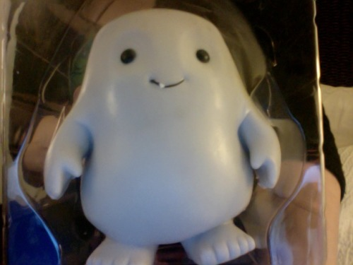 stellavee:  Look at what I got today at SDCC! :D Adipose!  Part of our series on Stuff Whovians Got at San Diego Comic-Con 2012