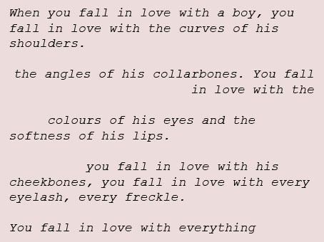 stolenheartstrings:  I wrote this when I was in love a few years ago. Look at the notes on it now. It's insane.