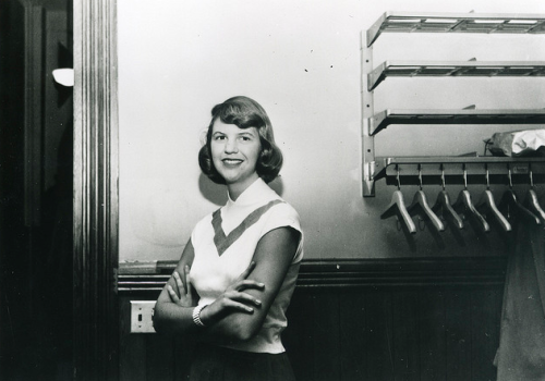 vintagesmith:  Sylvia Plath at Smith College in 1952/1953 Submitted by Gemma L.