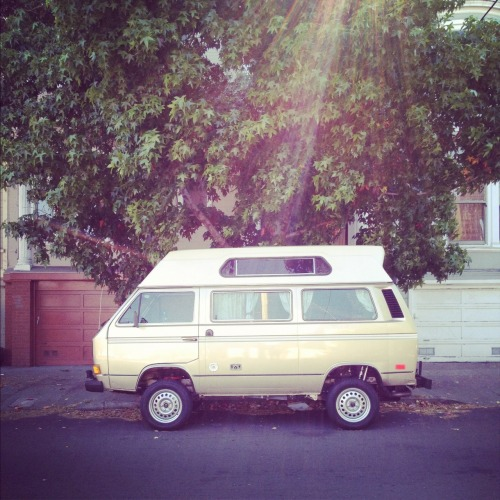 van-life:  Model: VW T3 Syncro Location: San Francisco, CA Photo: Foster Huntington