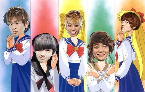SAILOR SHINee