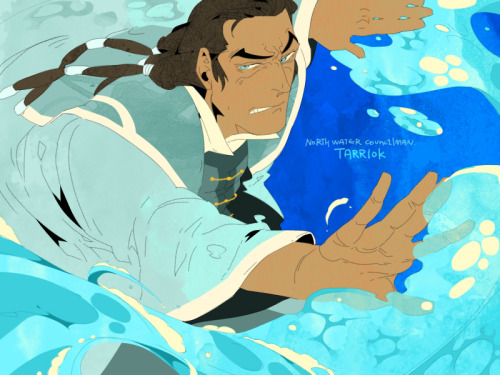 polapaz321:  Waterbender Tarrlok by the way,My favorite episode is 8!!!!!! ———————————————————————- If I finish the korrlok doujin, I will show it for everybody on internet.  I expect to finish it in mid-August~!
