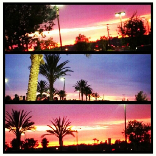 Camarillo Sunset #cali #summer #beautiful #valley (Taken with Instagram)