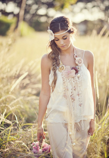 bohemian inspired photo shoot