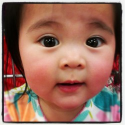 #cute #baby #neice #love #adorable #less #asian #sweet #jalapeno #japanese #filipino (Taken with Instagram)