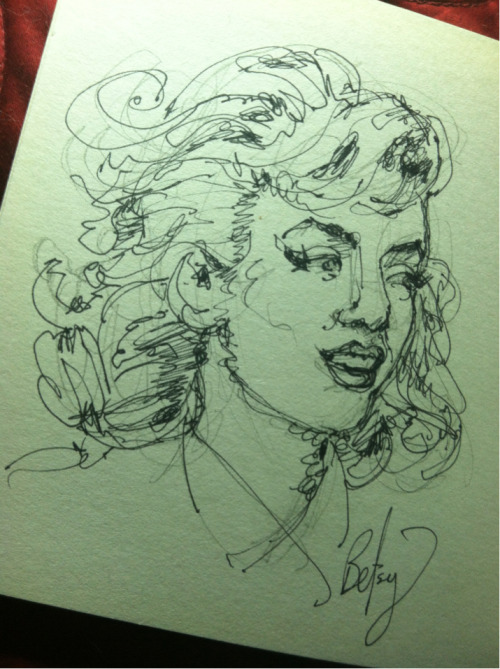Sketchbook: Misfits Marilyn