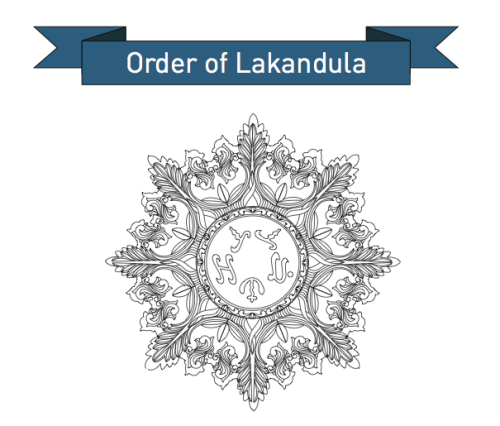 Numismatics: Excellent rendering of the Order of Lakandula Medallion