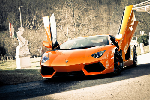 Orange Crush — Lamborghini Aventador LP 700-4 by Jan König
