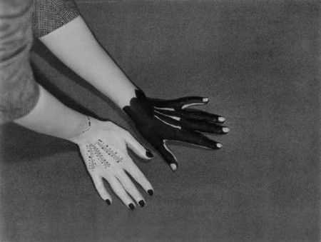 Hands-painted by Picasso Man Ray