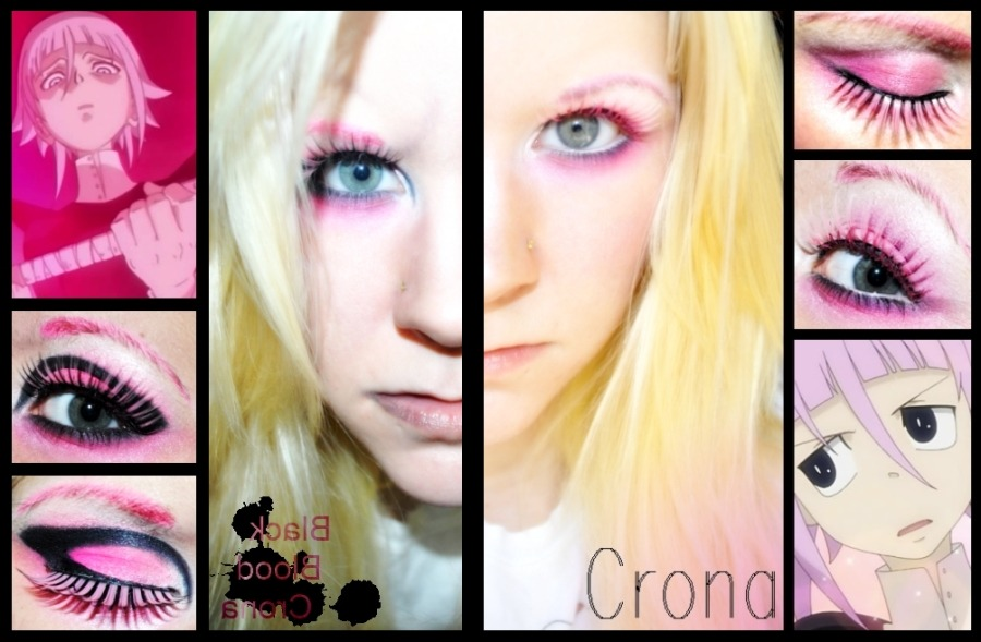 Crona & Black blood Crona. This was an excuse to use a lot of pink.