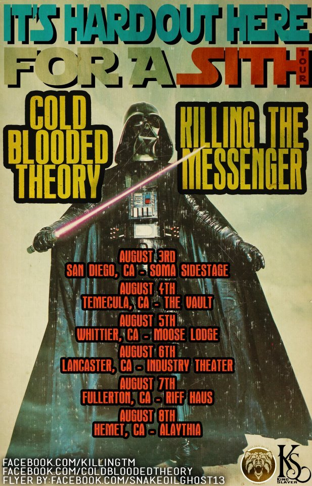 ITS HARD OUT HERE FOR A SITH TOUR Cali, if you're in these areas make sure to check this tour out