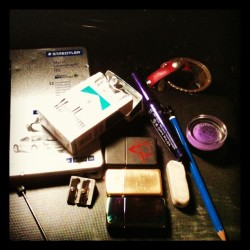 things I use daily  (Taken with Instagram)