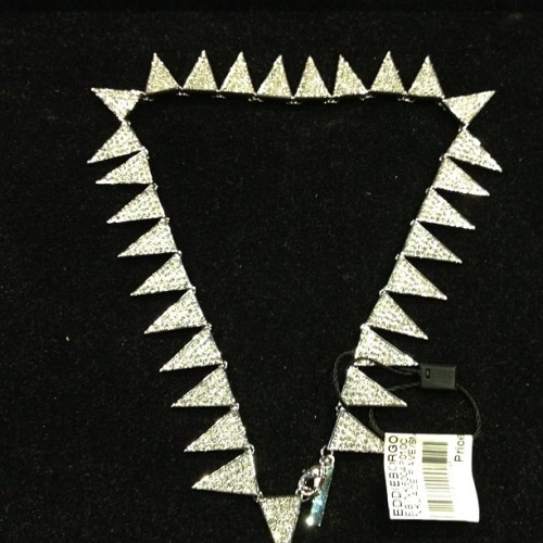 #eddieborgo #pave #triangle #necklace  (Taken with Instagram)