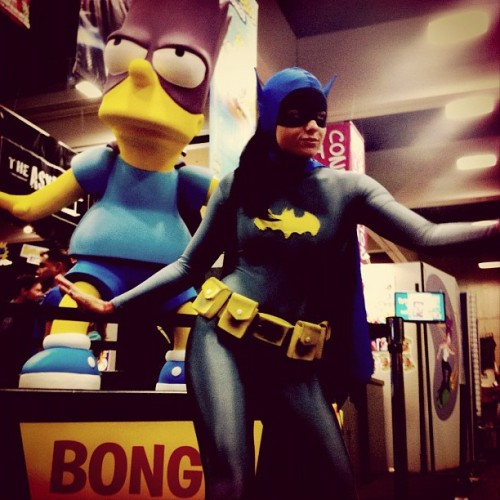 Bartman, Batman, and Bong @ohnoradeo (Taken with Instagram)