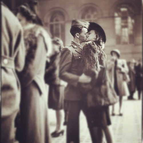 Kiss goodbye  (Taken with Instagram)