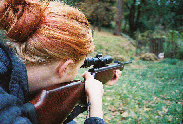 arquerio:  air rifle by teenage WITCHERY on Flickr.
