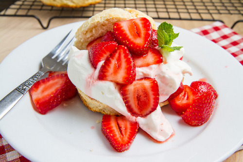 clottedcreamscone:  Strawberry Shortcake by Kevin - Closet Cooking on Flickr.