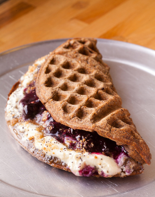 clottedcreamscone:  Waffle & Wolf - Brooklyn, NY by Eric Isaac on Flickr.