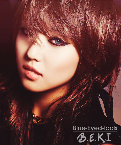 BLUE EYED K-POP IDOLS: #209 Lee Minyoung - Miss A