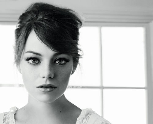 Stunning.  I have the biggest girl crush on Emma Stone.