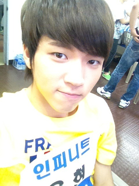 From Woohyun's Google+. Hiiiiii :D