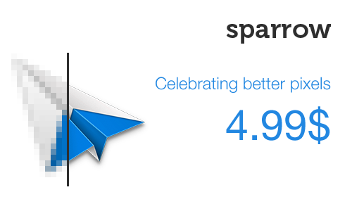 Sparrow for Mac will be $4.99 only until Monday the 16th of July.  Only on the Mac AppStore. Grab it now!