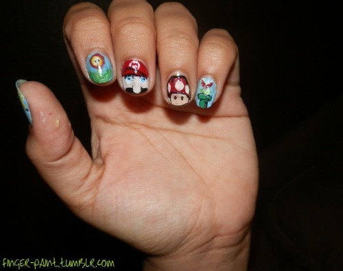 finger-paint:  Super Mario Theme