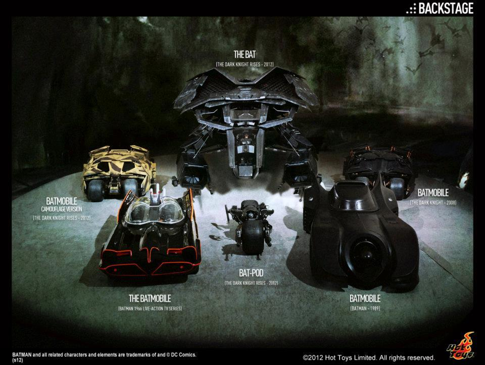 [TEASER] Batman Vehicles - Hot Toys