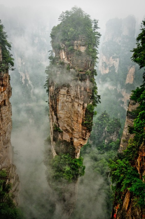 """Pandora is far, Zhangjiajie is near"" by Julia Chinn"