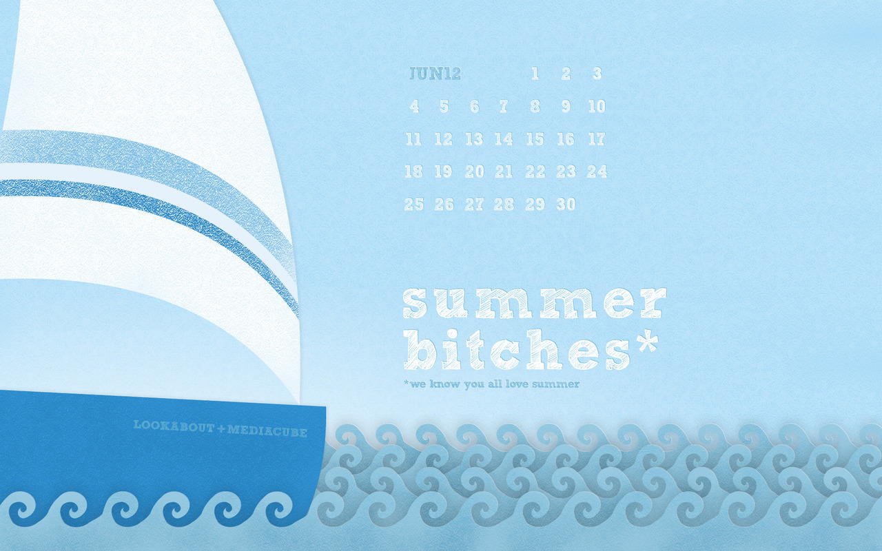 Waves on your desktop this June.We know you all love summer :-) Available in various sizes on our website.
