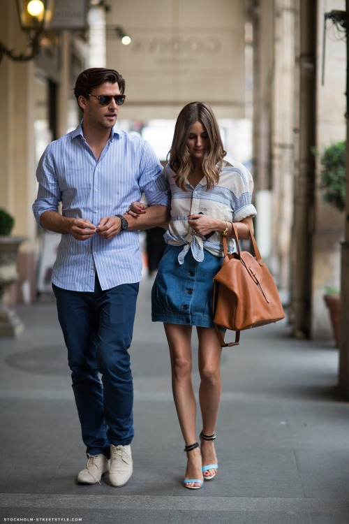 Olivia Palermo and her beau.