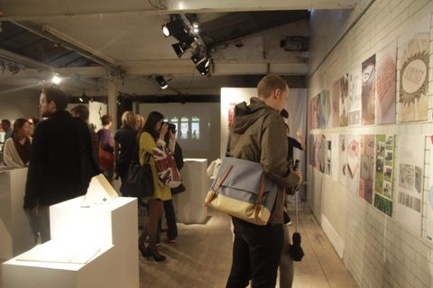 Successful night last night! Private view of the statements of intent show. If you missed it, don't worry we are open till Sunday! Come and have a look