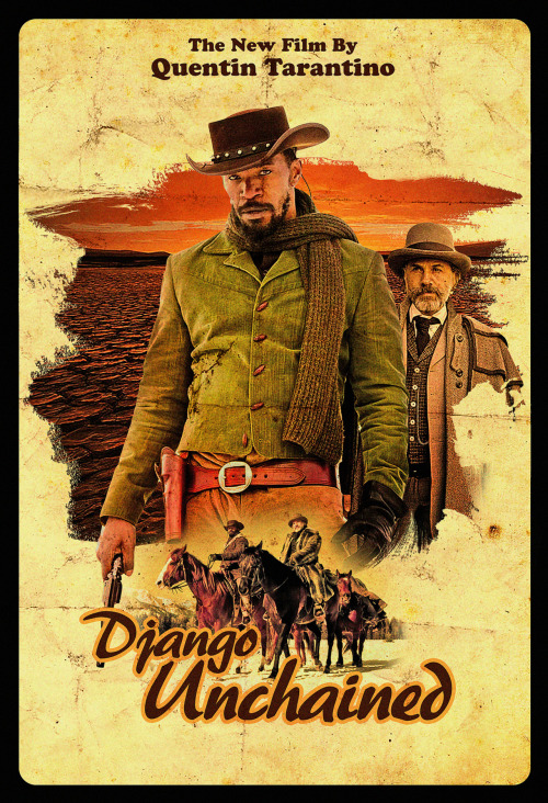 ratherboogie:  fuckyeahmovieposters:  Django Unchained by John 'Houzer' Smith  However the film turns out, still want. that. jacket.  Well, it is an amazing jacket. I am sure we will both probably end up loving the movie, no matter how good it actually is.