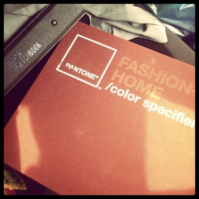 New Pantone textile (Taken with Instagram)