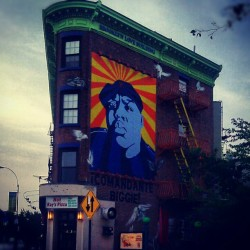 ¡Comandante Biggie! #Brooklyn #FortGreene #Summer #NewYorkCity #NotRaysPizza #BrooklynLoveBuilding #Morning #BiggieSmalls #TheNotoriousBIG #SpreadLoveItsTheBrooklynWay #FultonStreet #Android #Androidography #AmateurPhotography  (Taken with Instagram at Not Ray's Pizza)