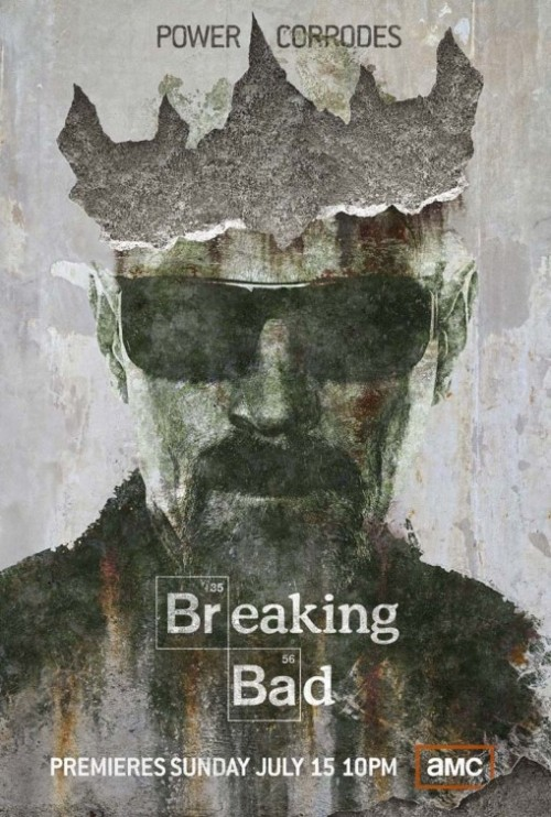 Comic-Con poster for Breaking Bad season 5.